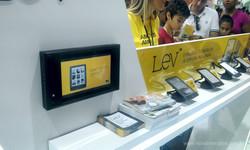Display Touch Screen com Sensor para PDV Saraiva