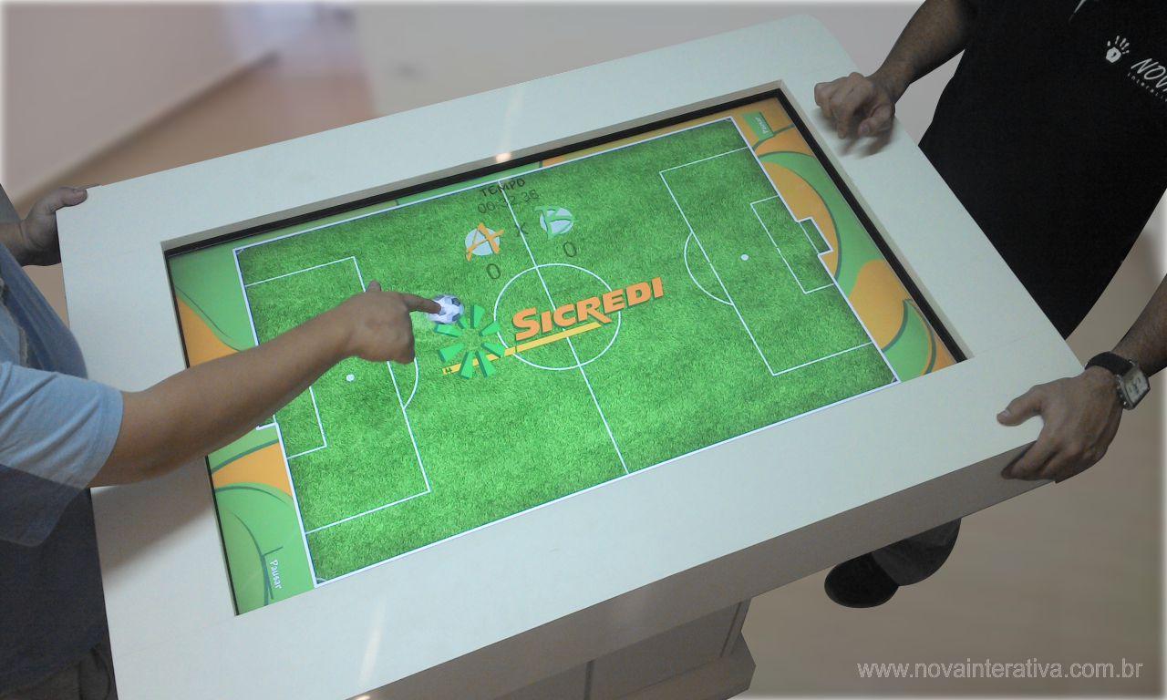 Mesa Multi Touch Sicredi