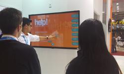 Tela Touch Screen com Catálogo Help