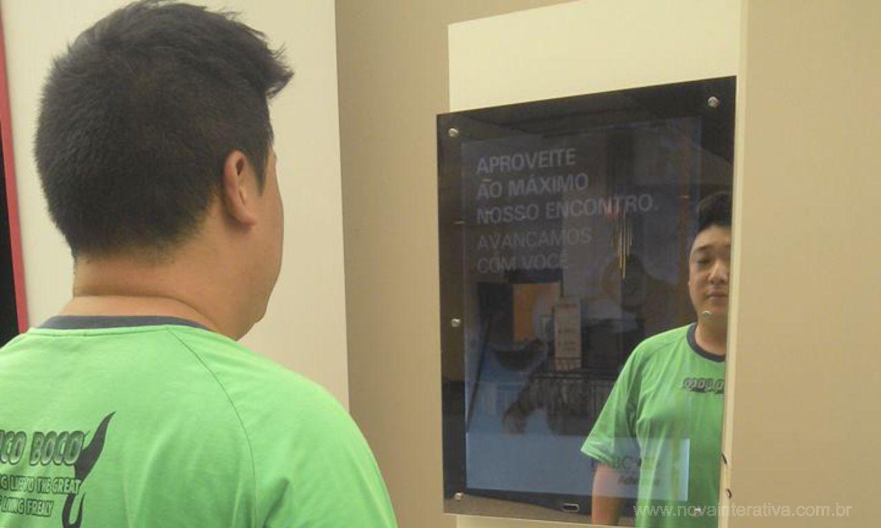 Espelho Interativo HSBC