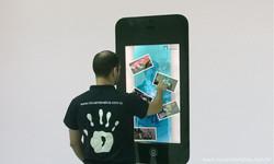 Espelho Touch Screen Catálogo Digita