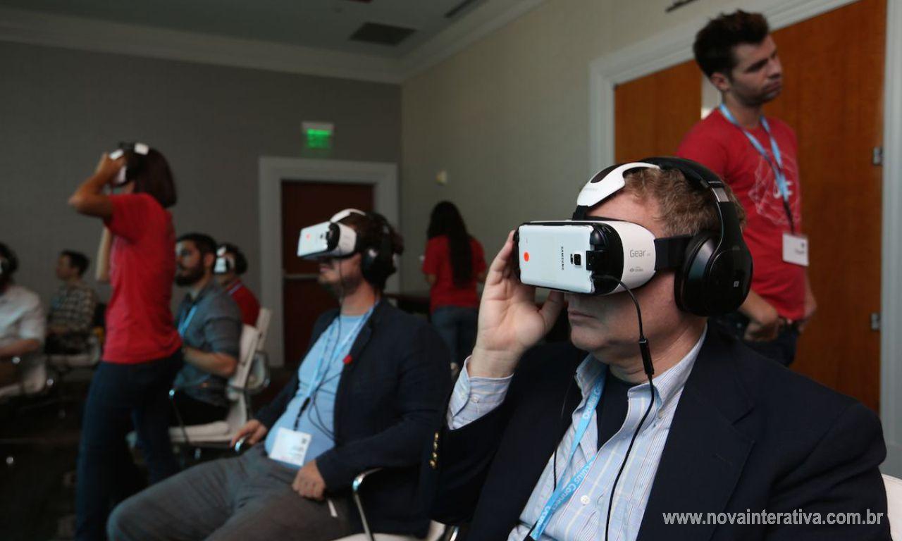 Óculos Realidade Virtual Claro