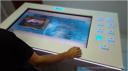 Mesa interativa com Cubos