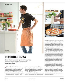 The Urban Epicurean mobilized pizza part