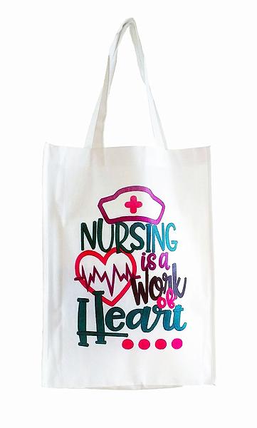 Bolsas ecológicas enfermera