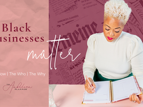 The Importance of Supporting Black-Owned Businesses