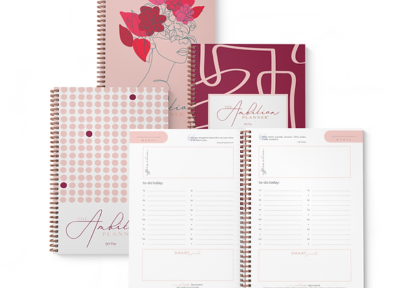 Annual Supply Bundle | Four Softcover A4 Planners