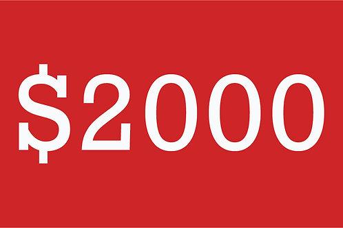 $2000 Building Bridges Donation