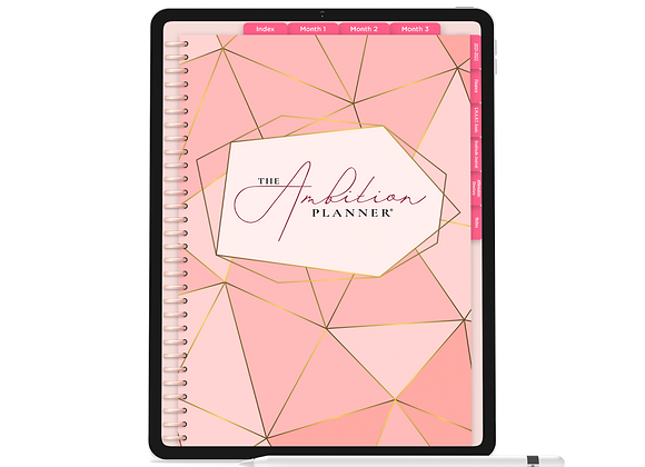 Pinks | Pink Mode | 90 Day Digital Planner