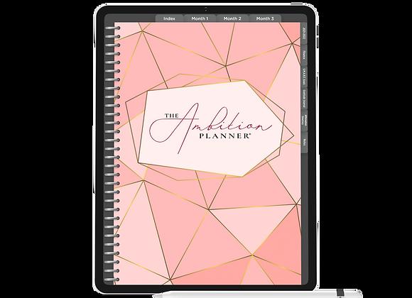 Pinks | Dark Mode | 90 Day Digital Planner