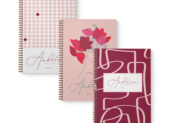 Nine-Month Supply Bundle | Three Softcover A4 Planners