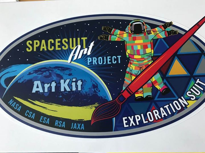 Spacesuit Art Project: Exploration S