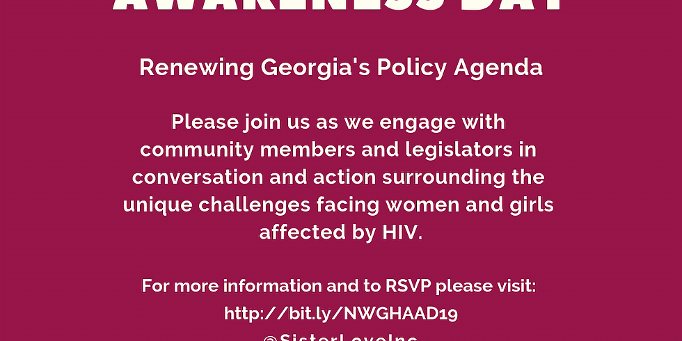 2019 National Women and Girls HIV/AIDS Awareness Day