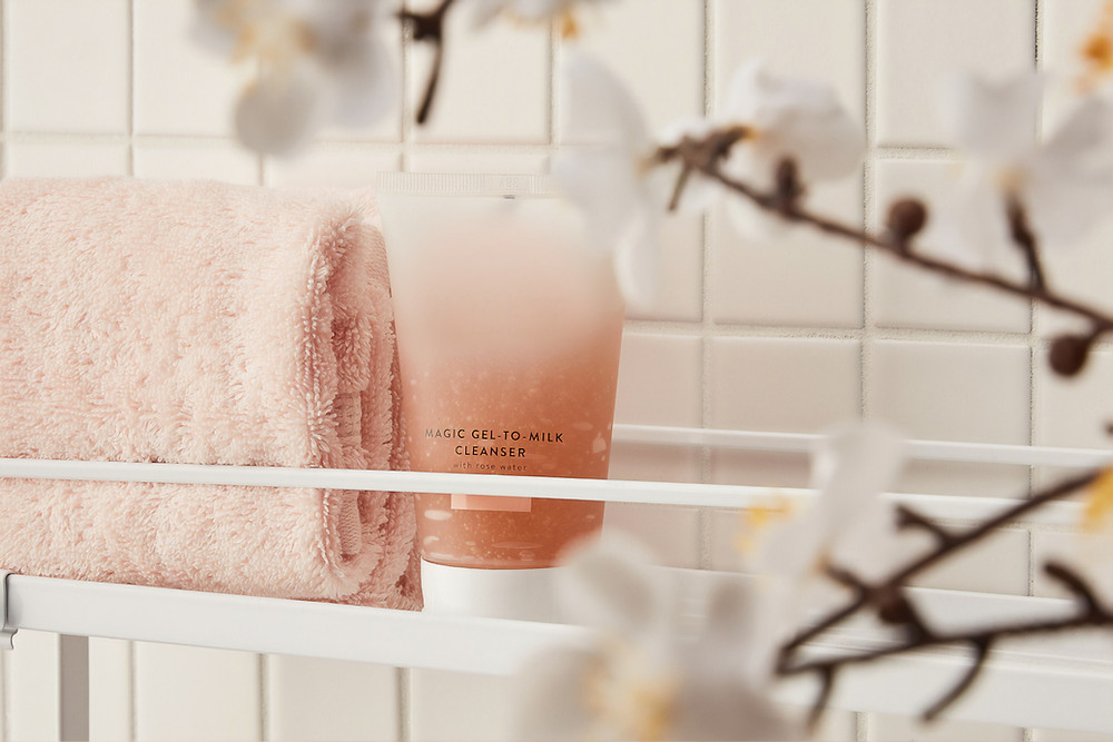 Peach shower cleanser natural body products Lastics Blog