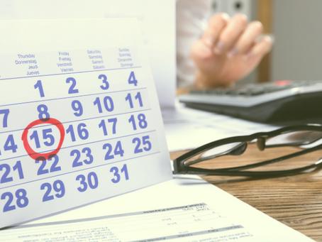 The Bottom Line: Tax Deadlines