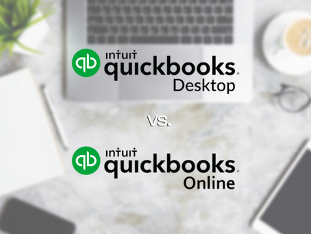 QuickBooks Desktop vs. QuickBooks Online: 7 Big Differences