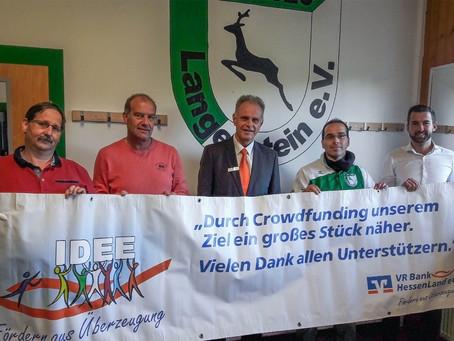 Crowdfunding-Erfolg für den SV Langenstein