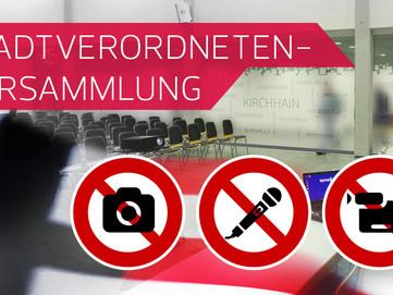 Stadtverordnete: Angst vor neuer medialer Öffentlichkeit?