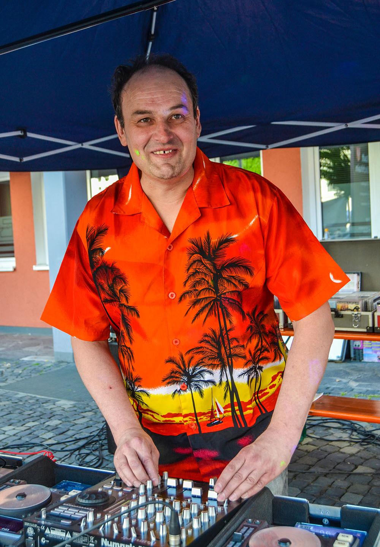 Sorgt auch in diesem Jahr für die Musik: DJ Udo Lotz.
