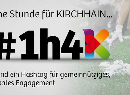 Startschuss für #1h4K – Einladung zum Teilen und Mitmachen.