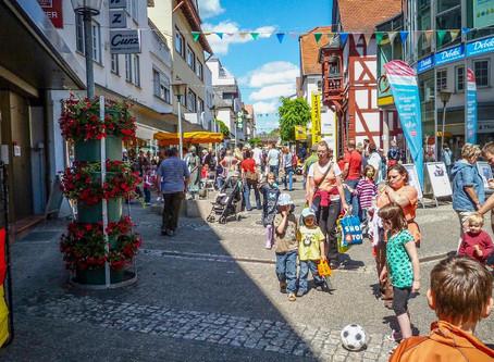 "21. Kinderfest ""WM-Fieber"" in Kirchhain"