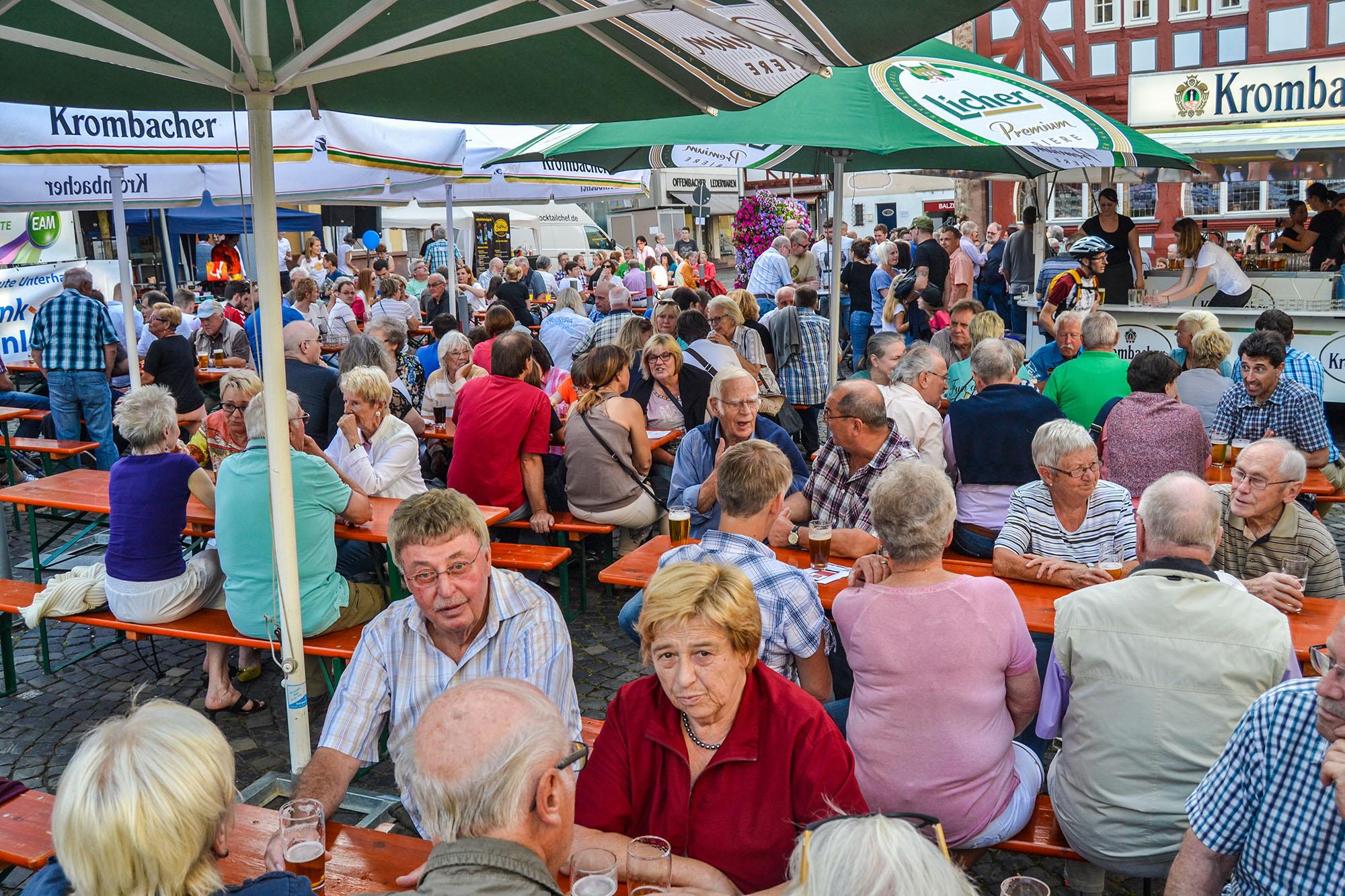 Voller Marktplatz und beste Stimmung. Das erhoffen sich die TSV-Handballer auch in diesem Jahr von ihrem Dämmerschoppen am 24. Juni.