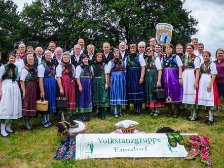 Volkstanzgruppe Emsdorf feiert 70 Jahre