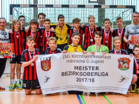 JSG Kirchhain/Neustadt Meister der Bezirksoberliga