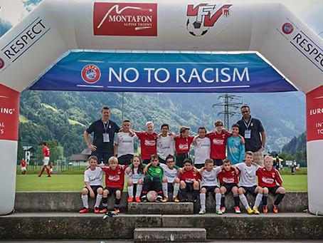 Ein faszinierendes Erlebnis für die jungen Kicker der E-Jugend