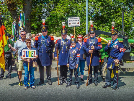 Bürgergarde Kirchhain auf dem Ochsenfest in Wetzlar