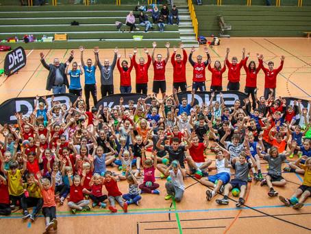 Ein toller Handballer-Tag mit dem DHB Kempa Mobil