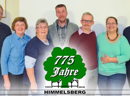 Festprogramm für 775-Jahre Himmelsberg vorgestellt