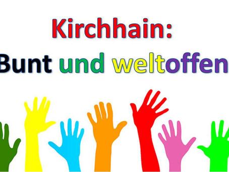"""""""Buntes und weltoffenes Kirchhain"""" am 01. September auf dem Marktplatz"""