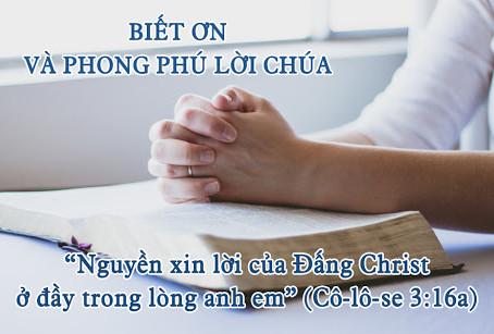 BIẾT ƠN CHÚA - Hồ Minh Khoách
