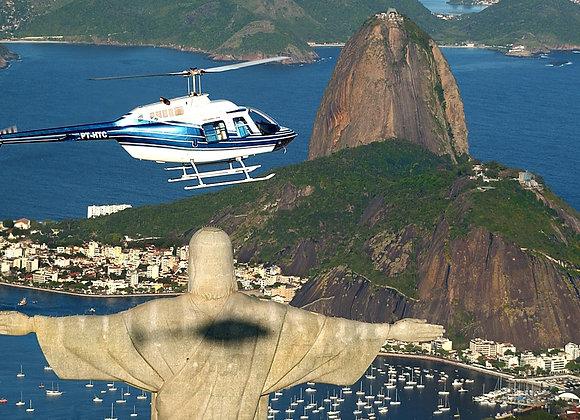 15 - Helicopter tour in Rio / Voo de helicóptero