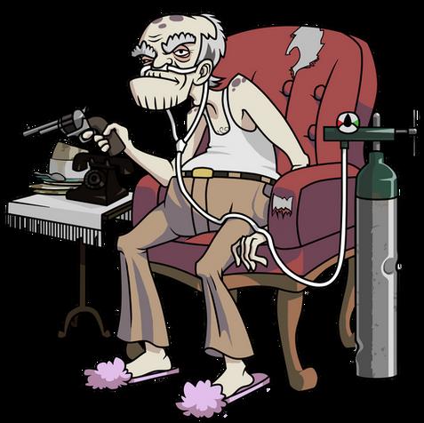 Grandpa Character - Pitch Bible Project