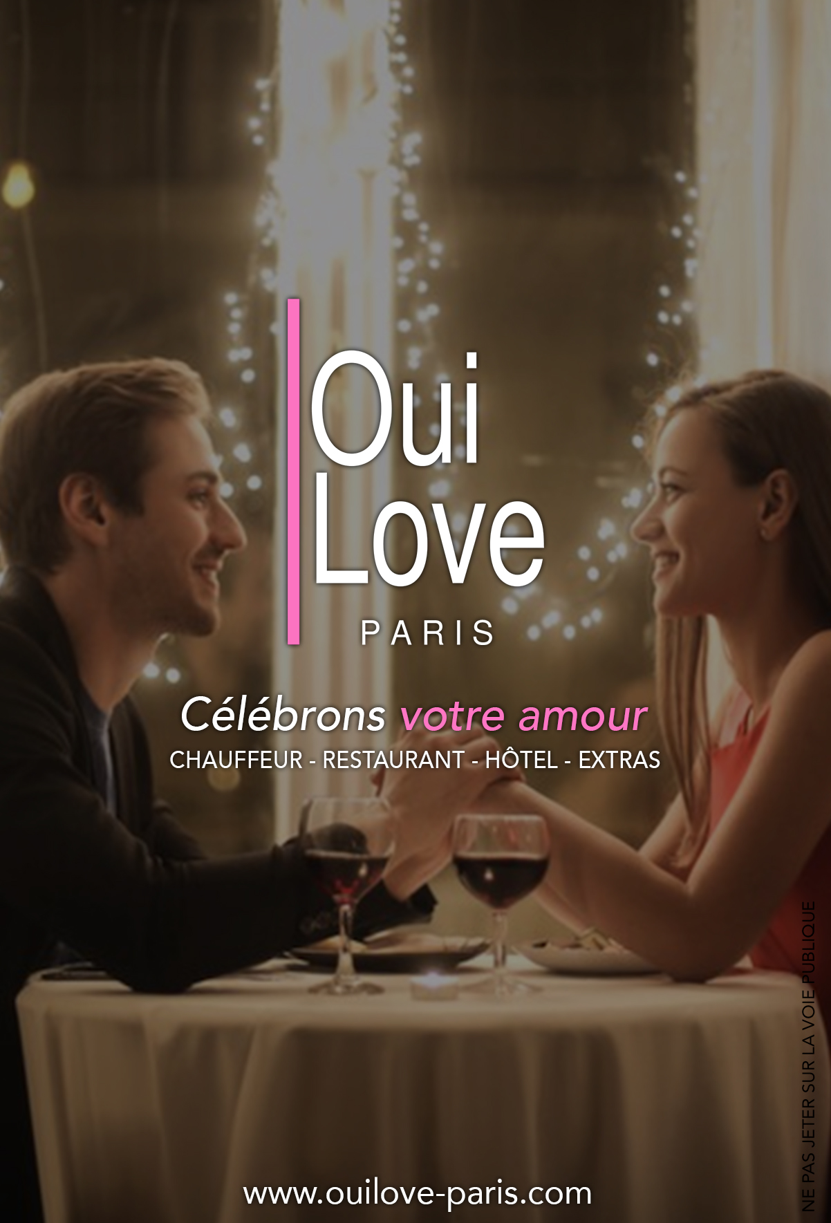 Flyer 2020 pour OuiLove Paris