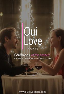 Flyer 2020 pour OuiLove Paris
