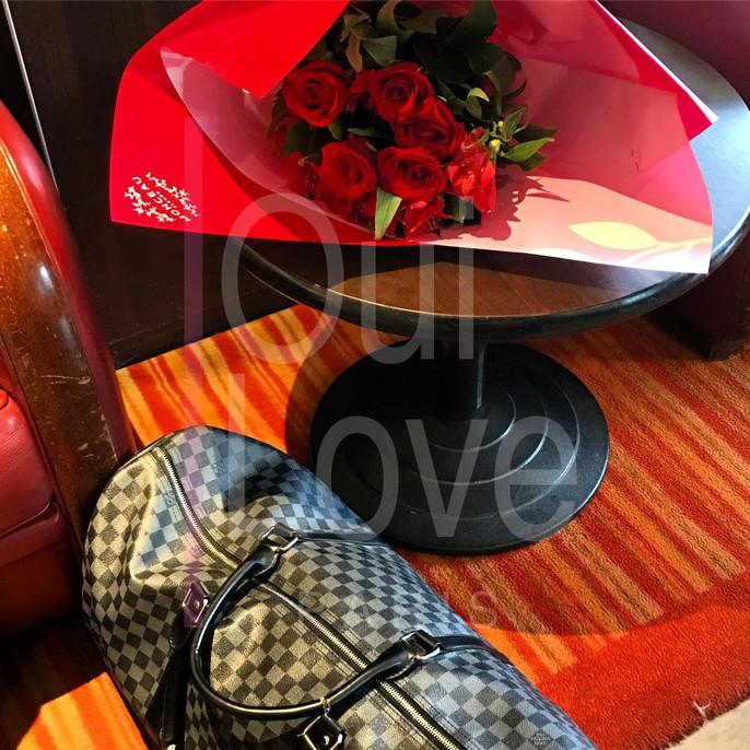 bouquet de rose mariage paris