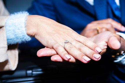Couverture photo (demande en mariage)