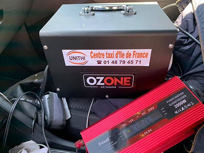 Nettoyage véhicule à l'ozone alterne tax