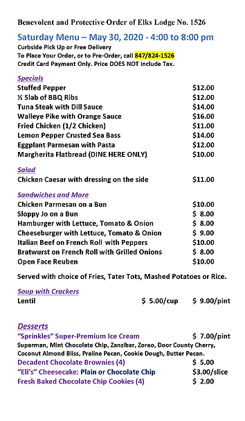 Elks Carry Out Menu(5.30.20).png