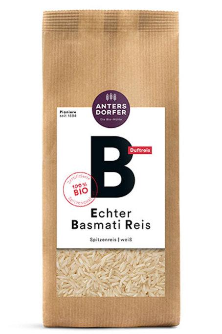 Basmati Reis weiß 1kg