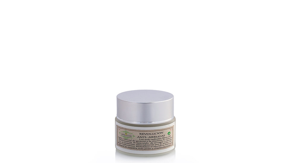 Anti-wrinkle cream with argan and hyaluronic acid (50 g)