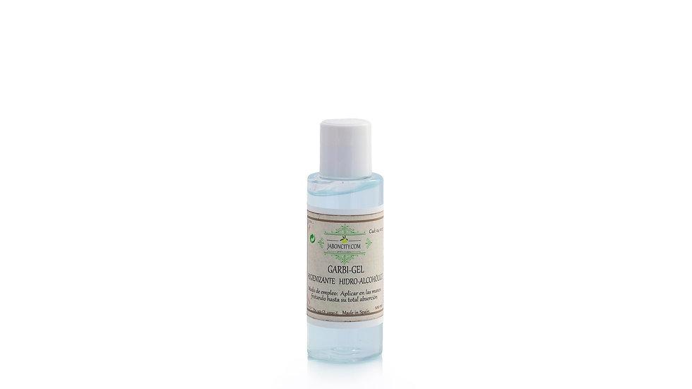 Hydro-alcoholic gel with organic aloe vera (100 ml)