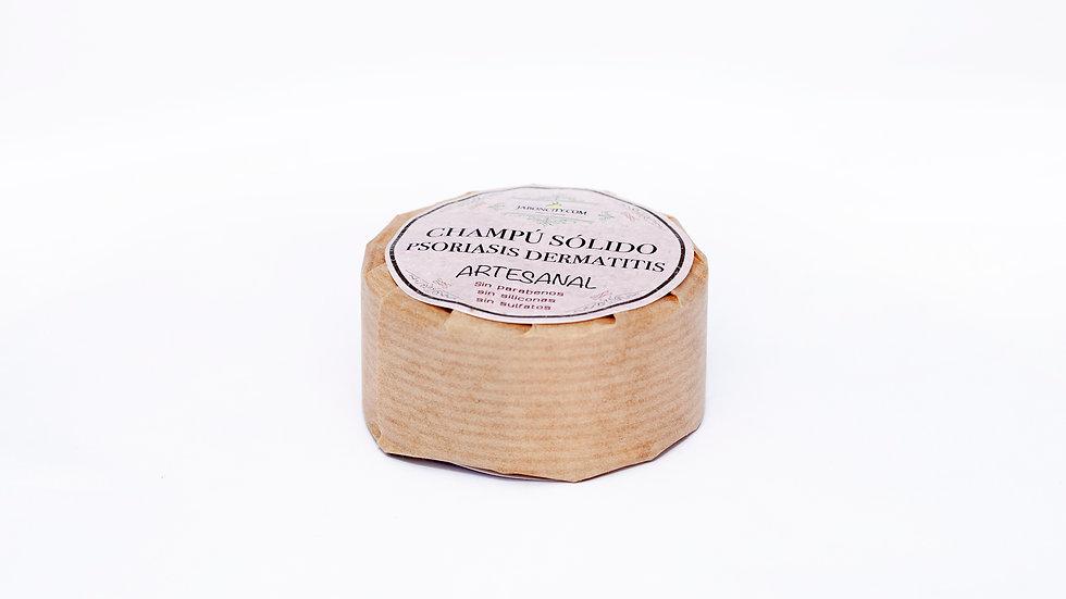 Champú sólido para psoriasis y dermatitis (50/60 g)