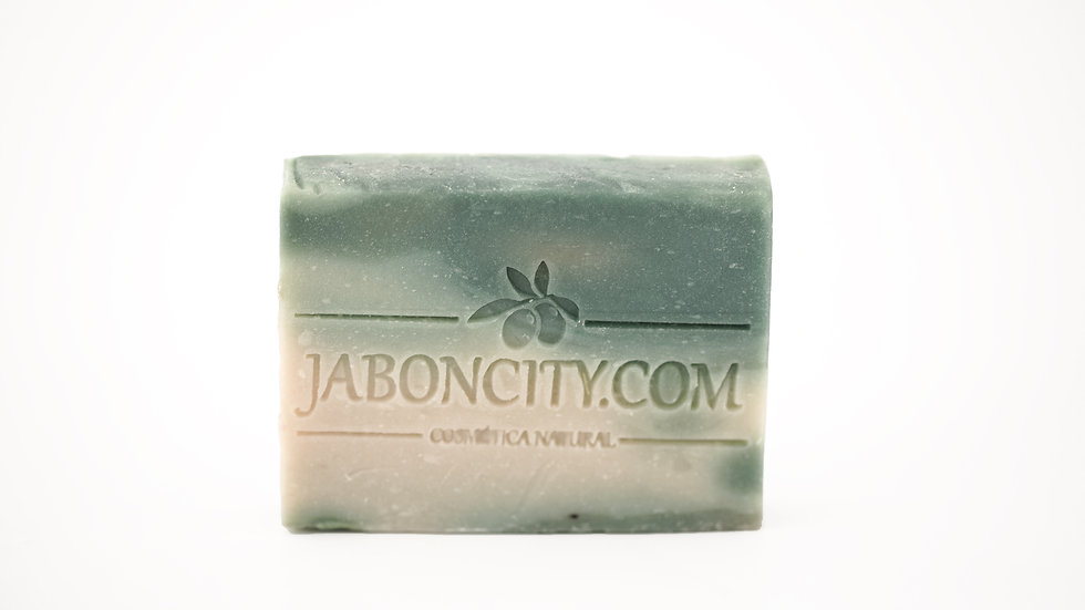 Green clay soap (100 g)