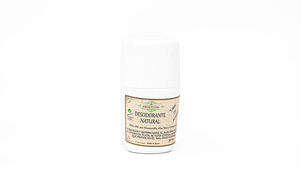 Desodorante natural sin aluminio (50 ml) Unisex