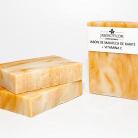 Jabón de manteca de karité + vitamina C