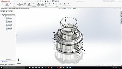 Bearing design drawing